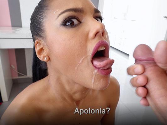 Imagen porno español Apolonia La Piedra bien jodido recibe corrida en la cara