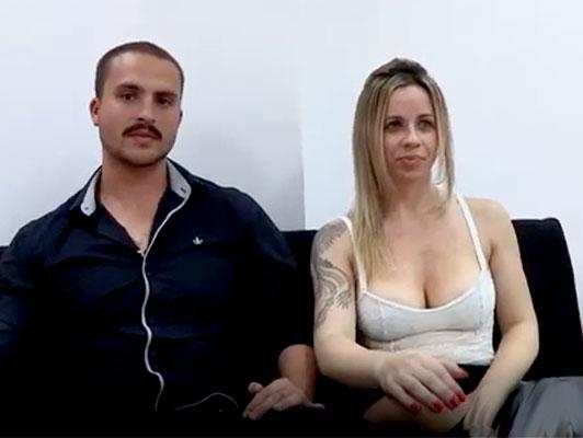 Imagen porno amateur español, pareja puta inmigrante en un video porno