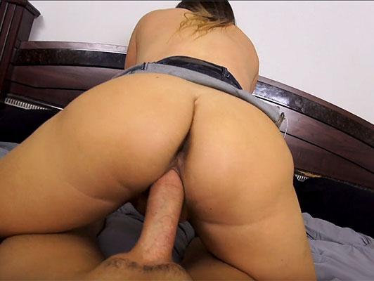 Imagen Sexo en POV jodido el coño de la hermana de su madre