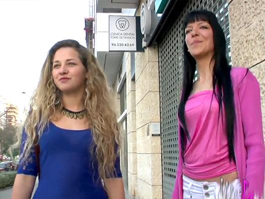 Imagen Amateur puta porno casero con dos hermosas chicas lesbianas
