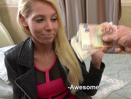Imagen 18 años de edad adolescente rubia sedujo a follar por dinero