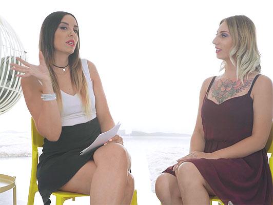 Imagen hablando de porno para mujeres con Yuno Amor y ponerla en práctica