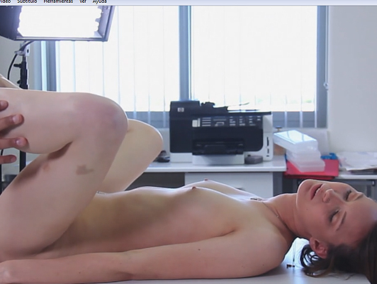 Imagen casting porno sensual con una linda chica