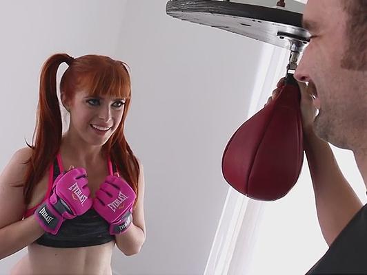 Imagen Follando en el gimnasio con el boxeo estudiante