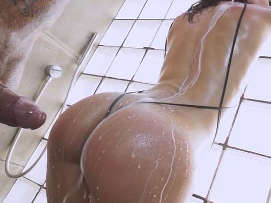 imagen Nacho Vidal y Julia Roca, super follando en la ducha