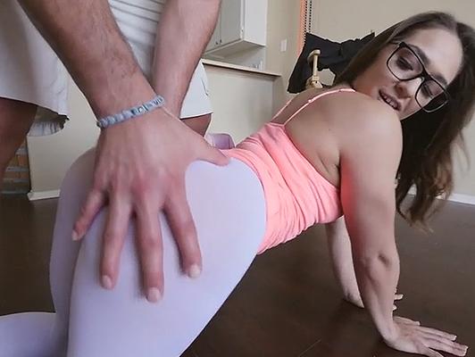 Imagen vídeo porno amateur de la pareja haciendo aeróbicos con el sexo