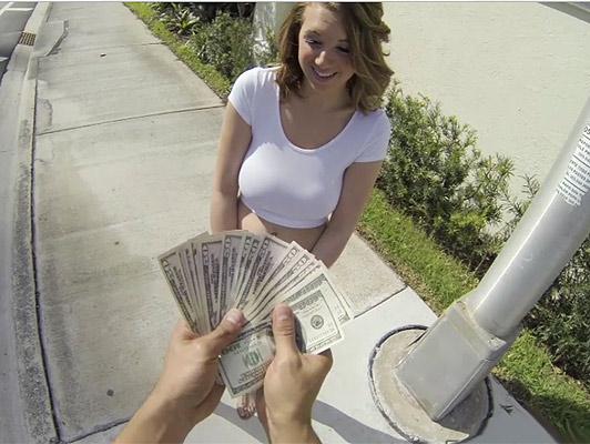 Imagen chica rubia tetona con gran culo folla por dinero