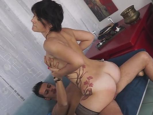 Imagen casting porno casera a una madura italiana