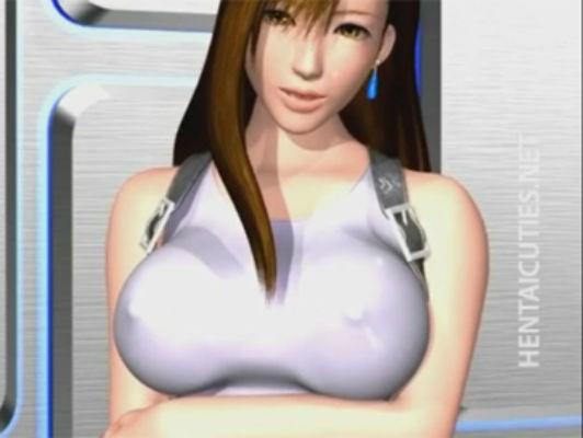 Imagen 3D puta tetona hentai