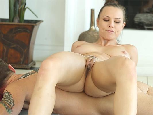 Imagen masaje relajante y sensual aceitosa