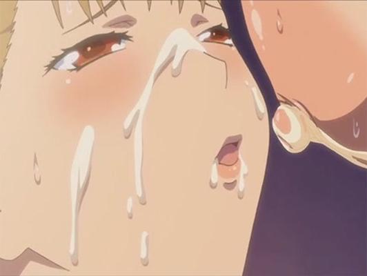imagen Semen en la cara de vídeos porno hentai