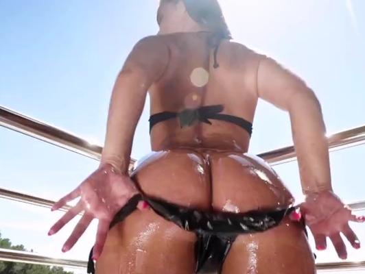 imagen Morena con culo perfecto para sexo anal