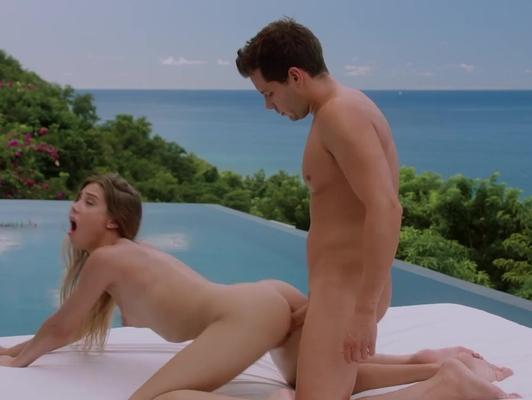 Imagen Playa jovencita de cuerpo delgado tiene sexo duro