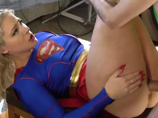Imagen Parodia sexo con una heroina de coño grande