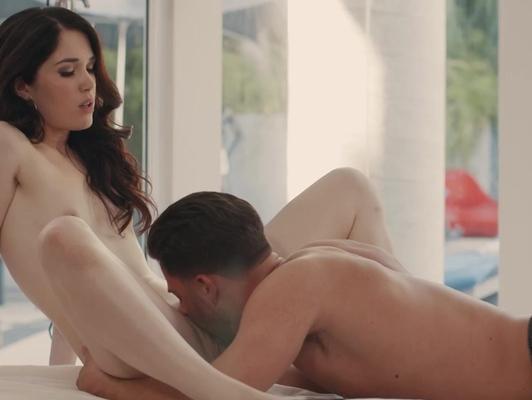 Imagen Sensual porno con jovencita y su novio