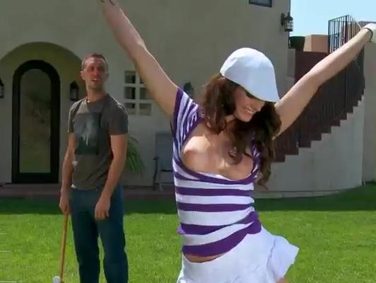 Imagen Deportista despues de jugar golf una buena follada
