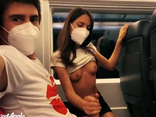 Imagen Sexo en vagón de tren durante pandemia