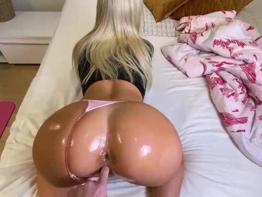 Imagen Rubia amateur en sesión de sexo anal